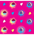 candies bright seamless pattern vector image vector image