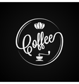 Coffee Logo Vintage Design Background vector image vector image