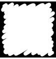 Filled felt pen white background vector image