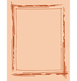 frame outline drawing vector image vector image