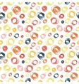 Seamless pattern with abstract doodle ornament vector image vector image