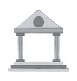 university building symbol vector image