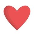 heart cartoon icon image vector image