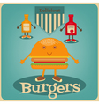 burgers vector image vector image