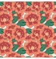 Seamless decorative pattern with flowers vector image vector image