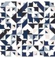 seamless geometric vintage pattern vector image