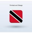 Trinidad and Tobago flag icon vector image vector image