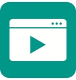 video streaming vector image vector image