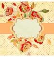 Vintage frame for your design EPS 8 vector image vector image