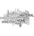 a guide to window hardware text word cloud concept vector image vector image