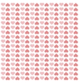 hearts love pattern icon vector image vector image