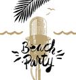 summer beach party vector image vector image