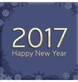 Digital happy new year 2017 text design