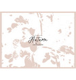 floral rustic background with hand drawn doodle vector image vector image