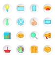 Marketing icons set