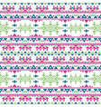 peruvian aztec seamless pattern boho style vector image vector image