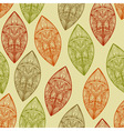 Seamless pattern autumn highly detailed