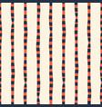 vertical irregular hand drawn stripes red blue vector image