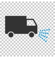 Washing Car Eps Icon vector image vector image
