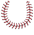 Baseball Lace Background8 vector image vector image