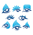 bright vision collection vector image