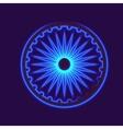 Dharmacakra Dharma Wheel vector image vector image