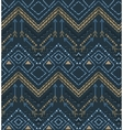 ethnic seamless tribal boho pattern vector image