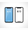 modern smartphone design symbol vector image