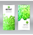 Set of Poster Banners Templates with Dots vector image vector image