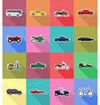 transport flat icons 58 vector image