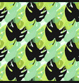 tropical seamless patternsummer endless vector image vector image