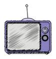 tv retro isolated icon vector image