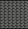 brick wall seamless pattern simple mosaic vector image