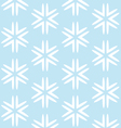 Christmas blue seamless background vector image vector image