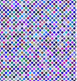 Colorful abstract square pattern background design vector image