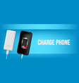creative of full charged vector image vector image