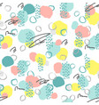 seamless creative abstract pattern vector image
