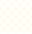 Yellow Grid White Diamond Background vector image vector image
