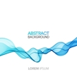Abstract background futuristic wavy vector image vector image