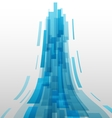 Abstract blue elements technology background vector image vector image