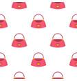 bag pattern seamless vector image vector image