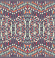 ethnic seamless pattern aztec geometric vector image vector image