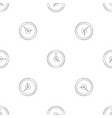 fast clock pattern seamless vector image