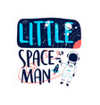 hand drawn space elements vector image