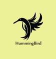 Humming Bird Logo vector image vector image