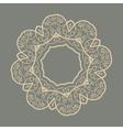Mandala Doodle Print vector image vector image