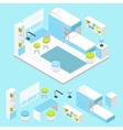 Modern Children Room Composition vector image vector image