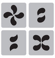 monochrome character set from punctuation marks vector image vector image