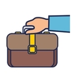 portfolio business isolated icon vector image vector image