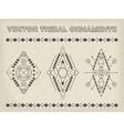 Tribal Emblems vector image